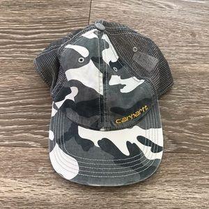 CARHARTT ARMY GREEN TRUCKER BASEBALL CAP